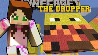 getlinkyoutube.com-Minecraft: FALLING ONTO GIANT MOBS! - TALLCRAFT DROPPER - Custom Map