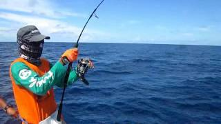getlinkyoutube.com-Mancing mania mantap!!! - reel stella menjerit histeris