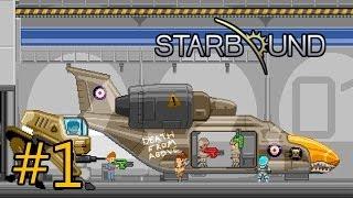 "getlinkyoutube.com-Starbound #1: ""Разрушение дома, нападение инопланетян"""