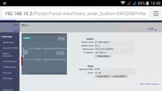 getlinkyoutube.com-TIA PORTAL 18/20: Web Server S7 1200