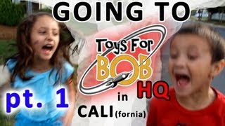 getlinkyoutube.com-Going to Toys for Bob HQ in California (Part 1)