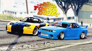 getlinkyoutube.com-GTA Online  - The Fast And The Furious: Tokyo Drift