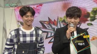 getlinkyoutube.com-150612 Lee Seung Gi Interview @ Music Bank