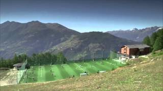 Europe's highest football pitch keeps losing balls!