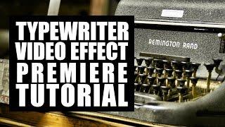 getlinkyoutube.com-Premiere Tutorial: How to Typewrite in Adobe Premiere