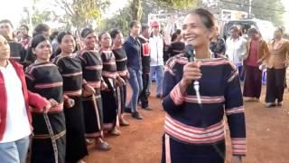 getlinkyoutube.com-Điệu múa Xoan của dân tộc người Jrai.
