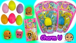 getlinkyoutube.com-Charm U Charmbracelet 8 Pack with Mystery Backpacks + Surprise Eggs Blind Bags