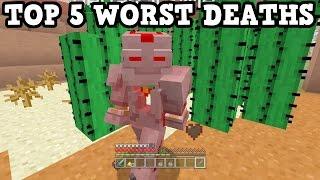 getlinkyoutube.com-Top 5 Most Embarassing Minecraft Deaths