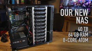 getlinkyoutube.com-Our New NAS: 40 TB, 64 GB ECC RAM, SSD Caching, 10 Bay Case