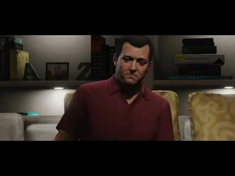 Video Game Trailers - GTA 5 Gameplay Michael, Franklin, Trevor All Trailers (Part of Story Cutscene)【720p HD Quality】