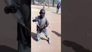 african boys sing a song pakistan zindabad