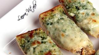 getlinkyoutube.com-Cheesy Garlic Bread Recipe - Laura Vitale - Laura in the Kitchen Episode 288