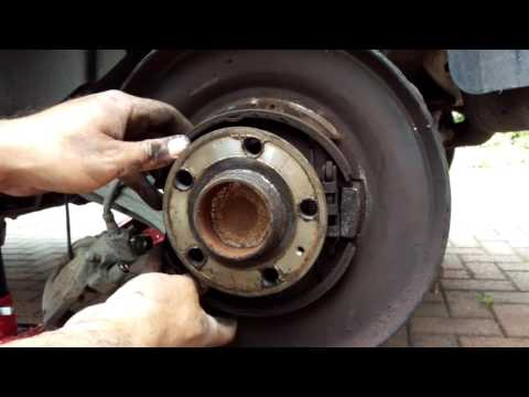 Handbrake Cable and Shoes Replacement Volvo S60 and Others