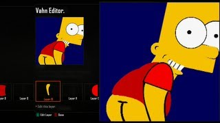 "getlinkyoutube.com-Call of Duty Black Ops 2 Emblem Editor Tutorials - Black Ops 2 - Bart Simpson Mooning "" Eat My Shorts "" Emblem Tutorial ( The Simpsons ) Playercard"