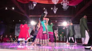 getlinkyoutube.com-Bollywood Indian Hindi Film Dance Performance at Erar's Sangeet