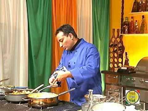 Vegetable Biryani Traditional Indian Food - By VahChef @ VahRehVah.com
