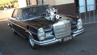 getlinkyoutube.com-Crazy Blown V8 Merc - DEBENZ