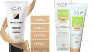 getlinkyoutube.com-Vichy Foundations; Overview & DermaBlend Demo.