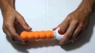 video Odeco Kama vroubkovitý vibrátor