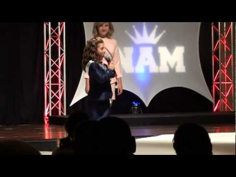 Sydney C at national american miss 2011 National jr.preteen personal intro