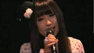 getlinkyoutube.com-My Song (Marina) Live - Girls Dead Monster starring LiSA Tour 2010 Final -Keep the Angel Beats!