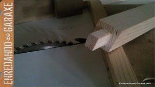 getlinkyoutube.com-Como cortar espigas con la sierra de mesa.
