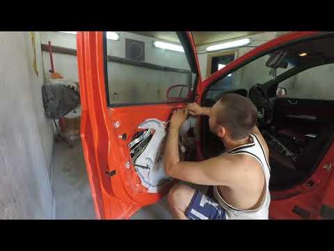 Как снять дверную карту Hyundai Getz !!!