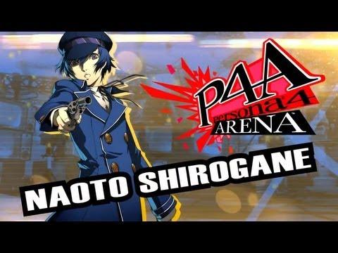 Persona 4 Arena Move Video: Naoto Shirogane