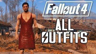 getlinkyoutube.com-FALLOUT 4 - ALL OUTFITS & CLOTHING!
