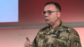 getlinkyoutube.com-Rocks of History - What legacy will you leave behind? | Lieutenant General Ben Hodges | TEDxWHU