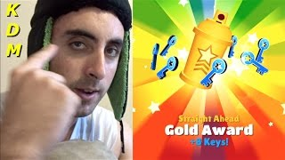getlinkyoutube.com-Straight Ahead Gold Award on Subway Surfers!