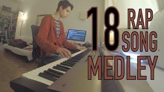 getlinkyoutube.com-18 Rap/Hip Hop Songs in Under 5 Minutes! (Piano Medley)