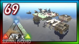 "ARK: Survival Evolved | Ep 69 -""Floating Ocean City!"" (ARK Modded Survival: Season 1) + Giveaway"