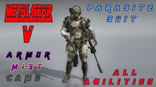 getlinkyoutube.com-Metal Gear Solid V Parasite Suit And All Abilities Gameplay