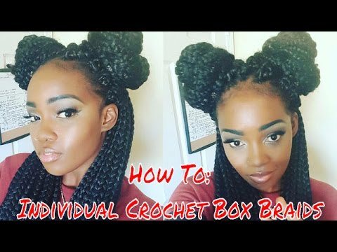 HOW TO: INDIVIDUAL CROCHET BOX BRAIDS