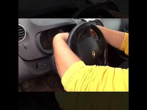 Як розібрати кермо/подушки безпеки Renault Kangoo 2013 VOLANTY.CZ