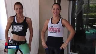 Ejercicios para hacer en casa con Catalina Quintero y Carolina Vasquez