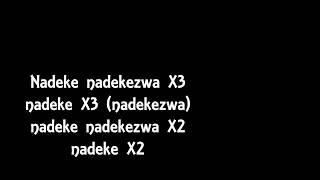 Mbosso - Nadekezwa ( Official Lyrics )