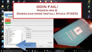 Odin - Fix Hidden.img [Samsung Galaxy S6 Edge SM-G925F]