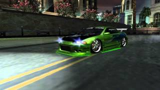 getlinkyoutube.com-Need For Speed Underground 2 fast and furious Mitsubishi Eclipse