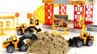 รีวิวของเล่น ชุดรถตักดิน รถแม็คโคร track engineering TOYs