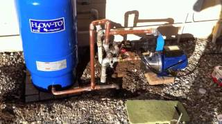 getlinkyoutube.com-Booster pump & pressure tank - Harbor Freight.m4v