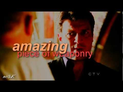 Castle and Beckett - Funny moments Season 5 Part 1
