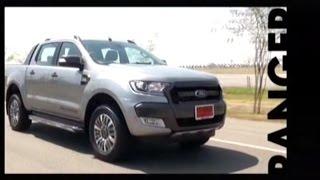 getlinkyoutube.com-Motoring Onair Test drive: FORD RANGER (Minor change) ช่วงที่3 05/03/2016