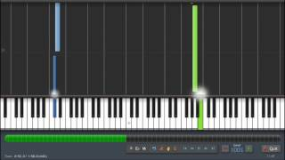 getlinkyoutube.com-Chris Brown - Don't Wake Me Up - Piano Tutorial - Synthesia
