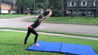 getlinkyoutube.com-How to do a front walkover and a back walkover!