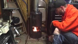 getlinkyoutube.com-DIY Waste Oil Burner