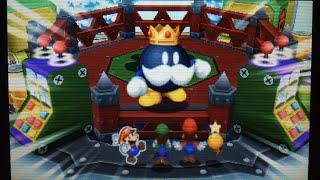 【3DS】マリオ&ルイージRPG ペーパーマリオMIX ボムキング戦