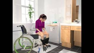 Kobiety na wózku - SpeediCath Compact