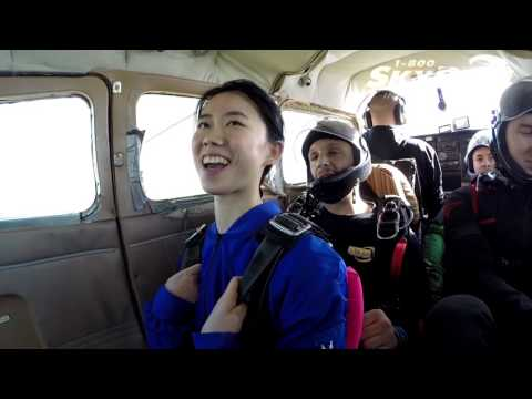 Can Chen's Tandem skydive!